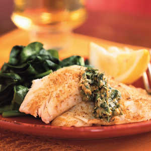 <p>Skillet Fillets with Cilantro Butter</p>