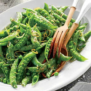 Snap Peas with Herb ButterRecipe