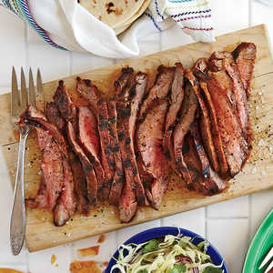 Spice-rubbed Grilled Flank SteakRecipe