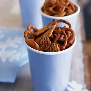Crisp and Spicy Snack Mix Recipe