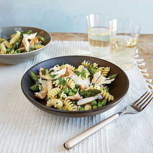 Spring Pea and Pasta Salad with Chicken and AsparagusRecipe