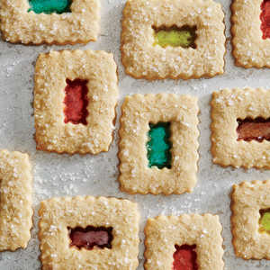 Stained Glass Window CookiesRecipe