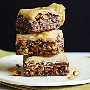 Chocolate Baklava Recipe | MyRecipes.com Mobile