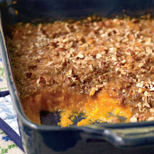 <p>Sweet Potato Casserole</p>