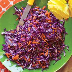 Tangy Red Cabbage SlawRecipe