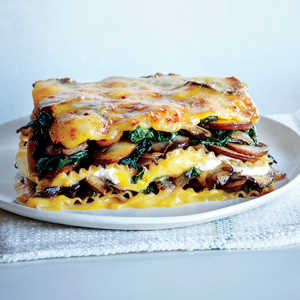 Vegetable Lasagna with Butternut BéchamelRecipe