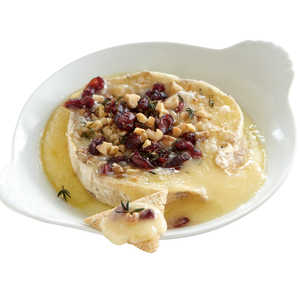 Warm Cranberry-Walnut BrieRecipe