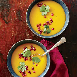 Warm-Spiced Butternut Squash SoupRecipe