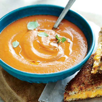 Creamy Roasted Tomato Soup