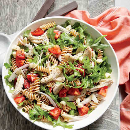 Chicken and Arugula Pasta Salad
