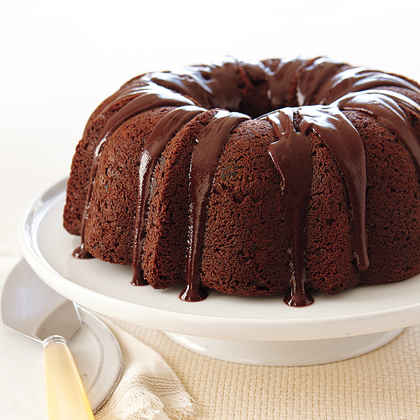 Chocolate Chocolate-Chip Cake