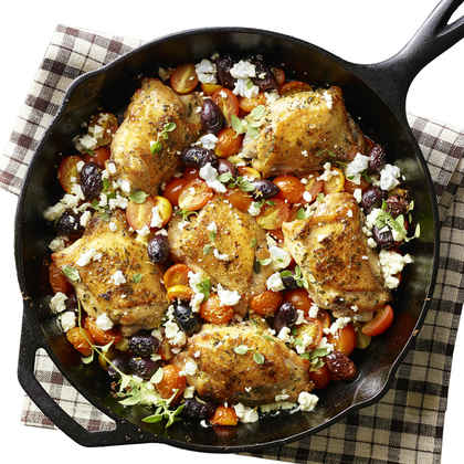 Greek Salad Chicken