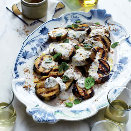 Grilled Eggplant with Moroccan Spices (Aubergines à la Marocaine)