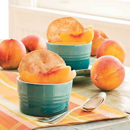 So-Easy Peach Cobbler
