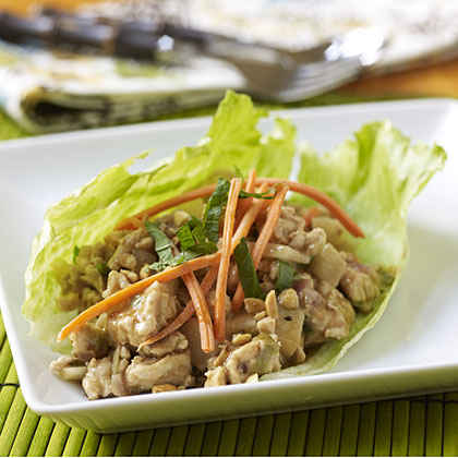 Perfect Pear Asian Turkey Lettuce Wraps