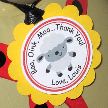 Personalized Thank You Tags