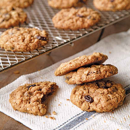 Oatmeal-Raisin Cookies