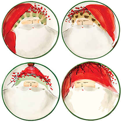Old St. Nick Serving Pieces