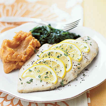 Honey-Lemon Baked Chicken