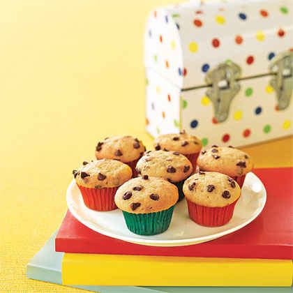 Mini Chocolate-Chip Cupcakes