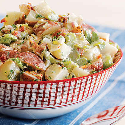 Savory Potato Salad (65¢)