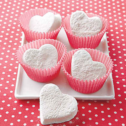 Heart-Shaped Marshmallows