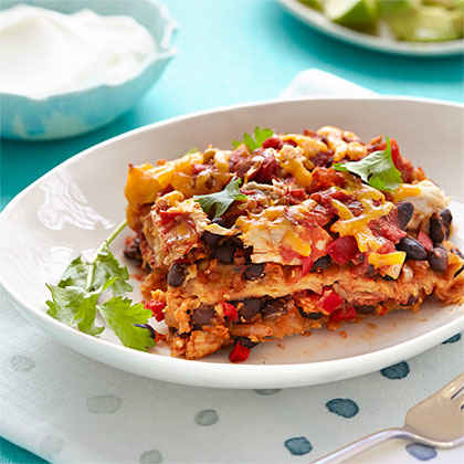 Black Bean and Chicken Casserole
