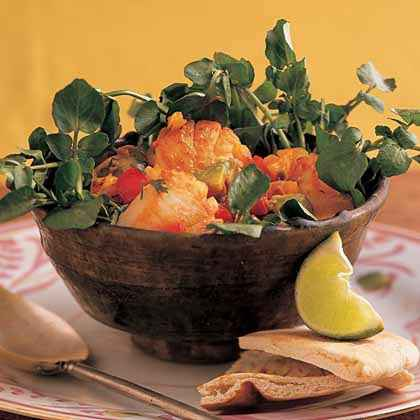 Warm Scallop Salad with Lime and Cilantro