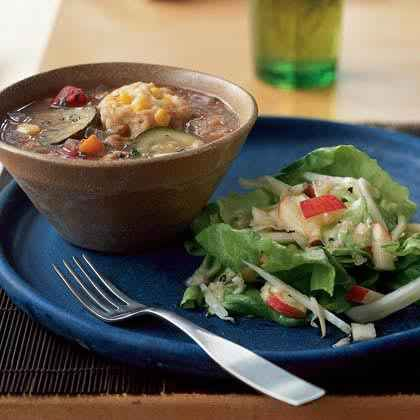 Soup 'n' Salad for a Crowd