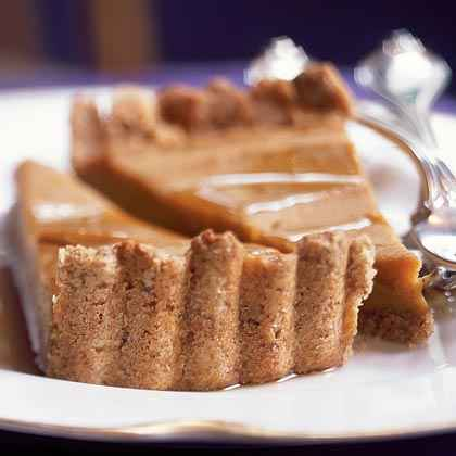 Sweet Potato Tart with Pecan Crust