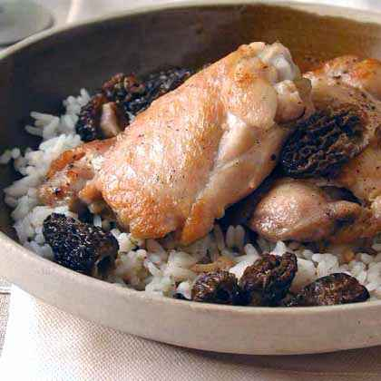 Chicken with Morels