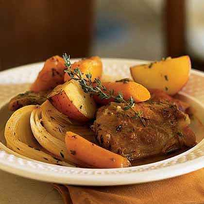 Braised Herb Chicken with Potatoes