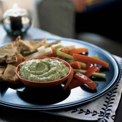 Avocado-Yogurt Dip with Cumin