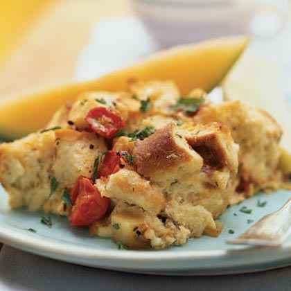 Brie and Egg Strata