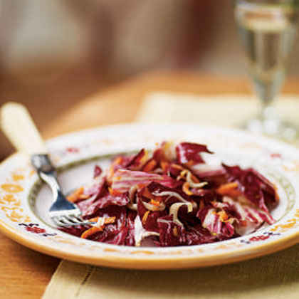 Radicchio, Endive, and Carrot Salad