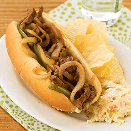 Steak and Cheese Sandwiches