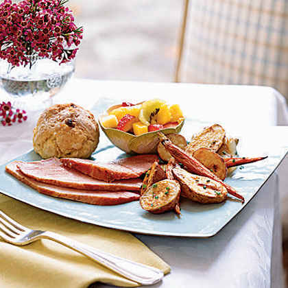 Brown Sugar and Spice-Crusted Ham