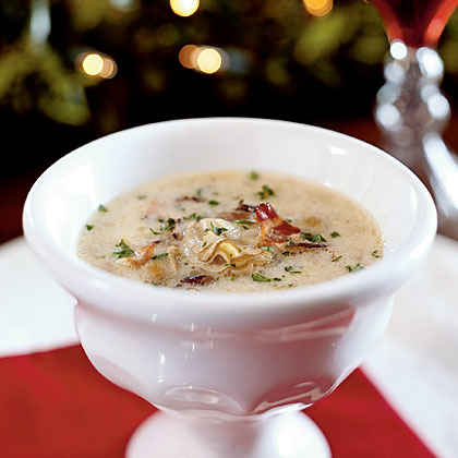 Oyster and Wild Rice Bisque