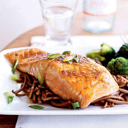 Omega-3s: Salmon with Sweet Chile Sauce
