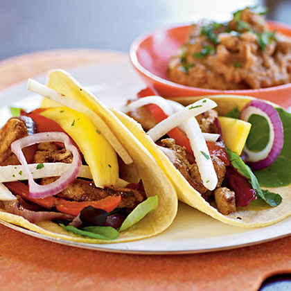 Fiesta Chicken Tacos
