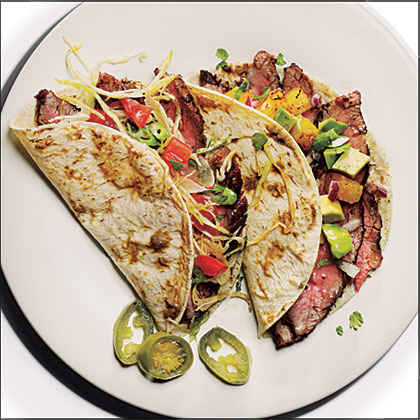 Flank Steak Tacos