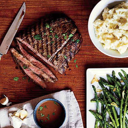 Pan-Grilled Flank Steak