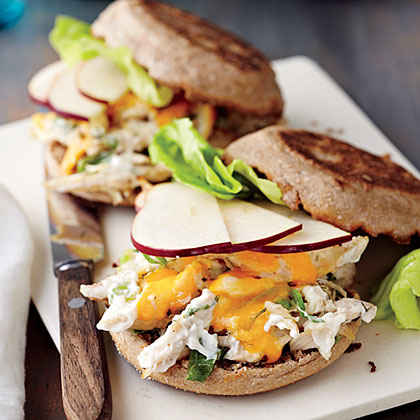 Chicken Salad Melts