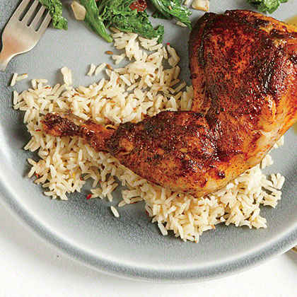 Cumin and Chile Rice