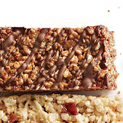 Double-Chocolate Chewy Bars