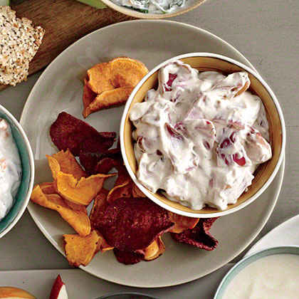 Charred Red Onion Dip