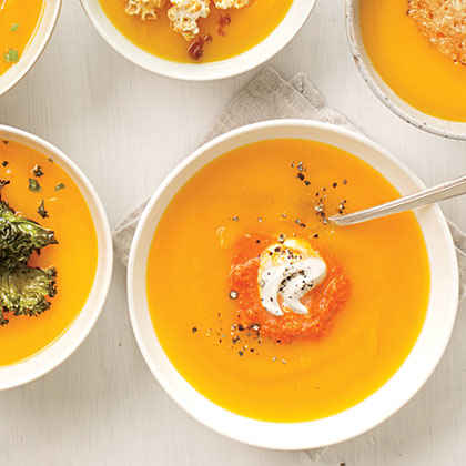 Roasted Red Pepper and Cream