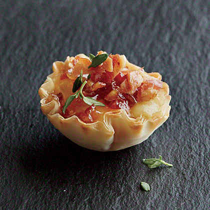 Bacon Phyllo Cups