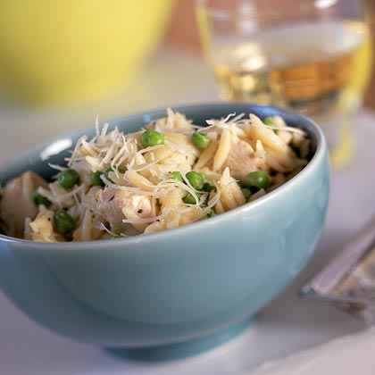 Orzo with Chicken and Asiago