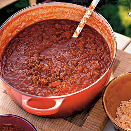 Christine's Vegetarian Chili